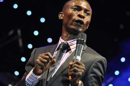 Nigerian comedian, I Go Die. [Photo credit: Daily Post Nigeria]