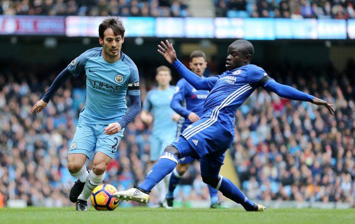 Chelsea Vs Manchester City Conte Guardiola Set For Battle Live