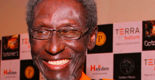 Veteran Nollywood actor, Sadiq Daba. [Photo credit: Happenings]