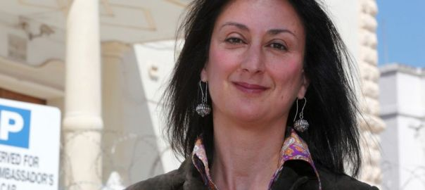 Malta's government offered a $1.18 million reward and full protection for anyone with information on who killed an investigative reporter Daphne Caruana Galizia.  (REUTERS)