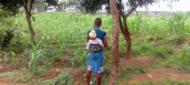 Chidinma (not her real name) with her baby. Credit: Evelyn Okakwu.