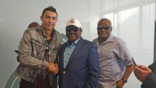 Governor Wike meets Ronaldo, Sergio Ramos