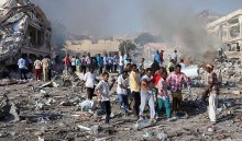 Death toll from Somalia bomb attacks rises to 300 - Official