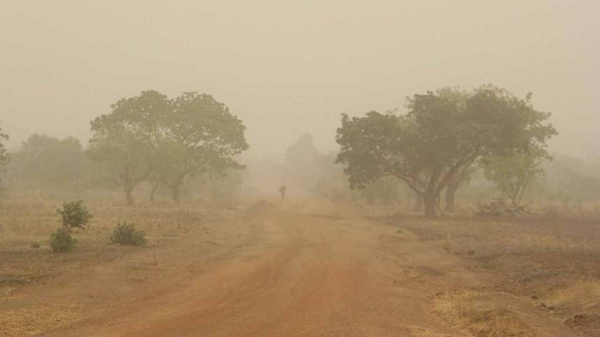 Image result for NiMet predicts dust haze, cloudy skies on