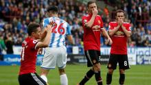 Huddersfield Town 2 - 1 Manchester United [Photo: Hindustan Times]
