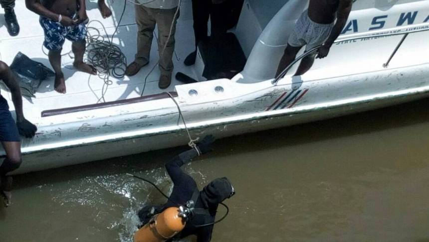 Body of man who jumped into Lagos Lagoon found