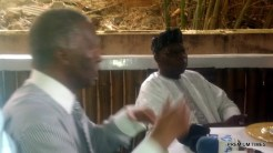 President Obasanjo and Thabo Mbeki