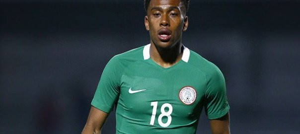 Alex Iwobi scored the winning goal [Photo Credit: Reuters]