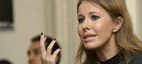 Ksenia Sobchak [Photo Credit: Zimbio]