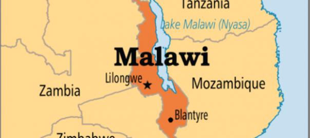 Malawian map
