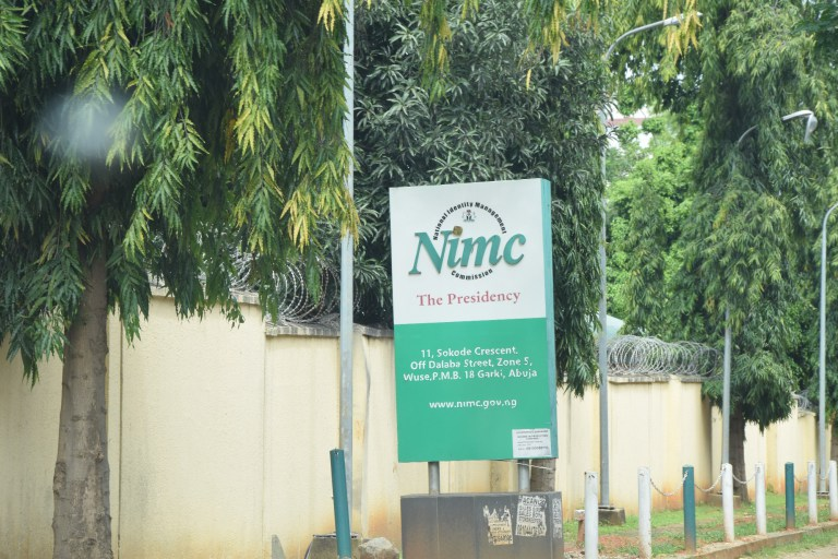 The NIMC headquarters at Wuse, Abuja