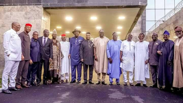 Southern Nigerian governors.