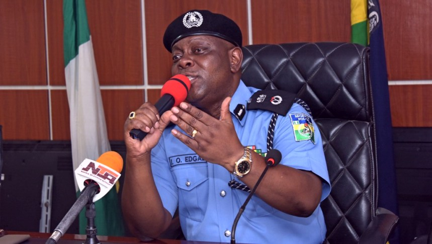 Image result for Lagos State Commissioner of Police, Mr. Imohimi Edgal