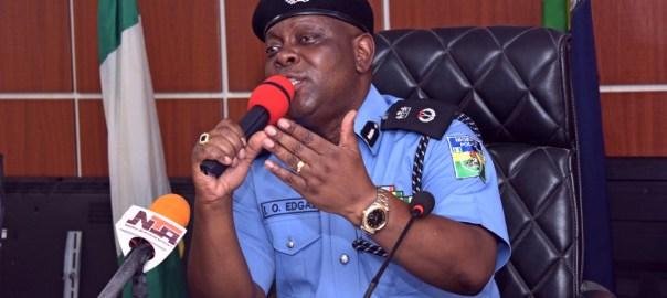 Lagos Police Commissioner, Imohimi Edgal.