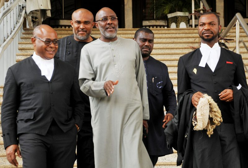 Pic 5. Olisa Metu appears in Federal High court in Abuja