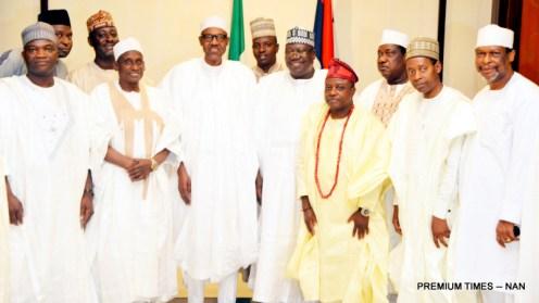 Pic 7 President Muhammadu Buhari Meets Members of the Buhari Support Group in Abuja
