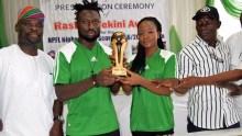 Rashidi Yekini Foundation Honours Nigeria League Top Scorer_edit