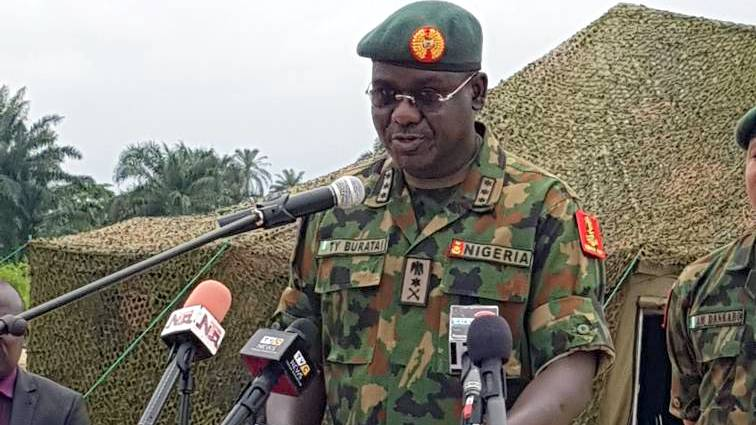 Major shake-up in Nigerian Army as 37 Generals redeployed