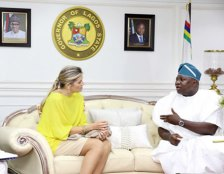 Image result for Queen Maxima of the Netherlands visits Ambode