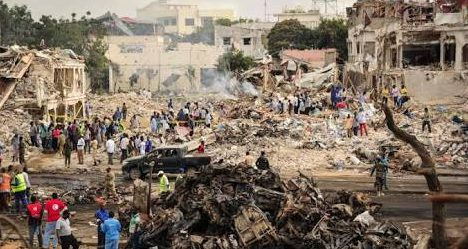 Death toll rises to 276 in Somalia explosion