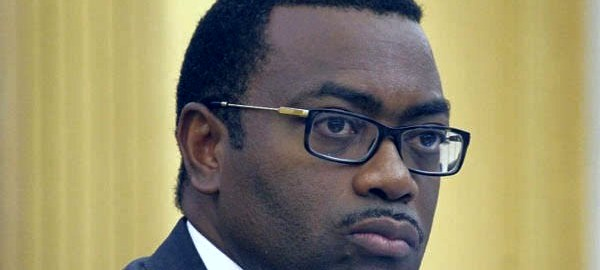 Akinwumi Adesina, the President of African Development Bank (AfDB)