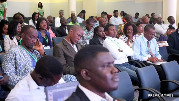 Participants at the Agric Symposium