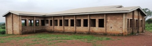 Abandoned Eititi Oma Nkporo health centre