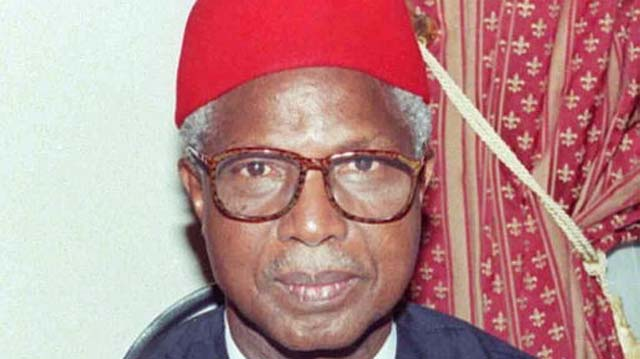 Nigeria's former Vice President, Alex Ekwueme
