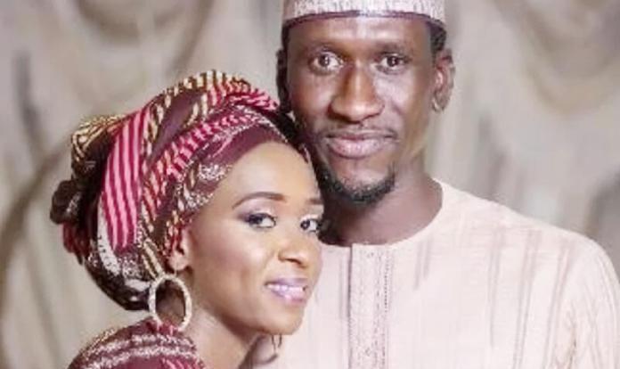 The victim, Mr. Haliru Bello and Wife, Maryam Sanda
