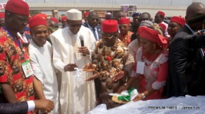 Buhari commissioning Federal Roads built by Ebonyi state government