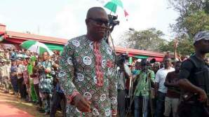 Former governor of Anambra state, Peter Obi. [Photo credit: Emmanuel Ngini]
