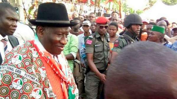 Former Nigerian president, Ebele Goodluck Jonathan. [Photo credit: Emmanuel Ngini]