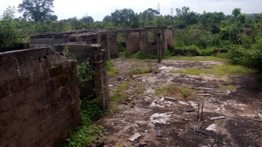 Abandoned PHC at ubbe/Ogba Akwanga LGA, Niger state.