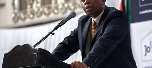 Johannesburg Mayor, Herman Mashaba