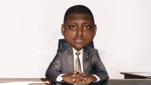 Caricature of former pension boss, Abdulrasheed Maina