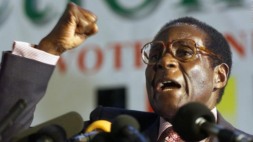 Robert Mugabe (Photo Credit: CNN)