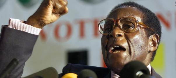 Robert Mugabe (Photo Credit: CNN)