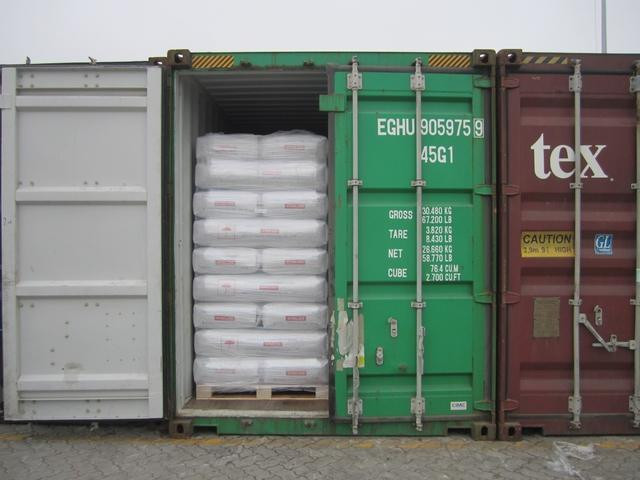 palletization of cargoes used to illustrate the story. [Photo credit: Ships & Ports]