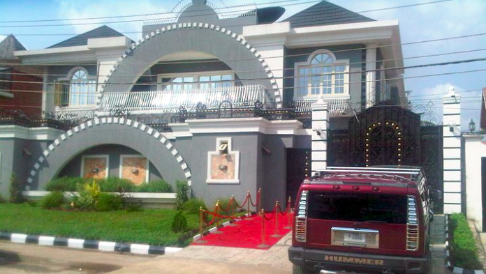 Image result for Squareville mansion located in Omole Estate for sale.