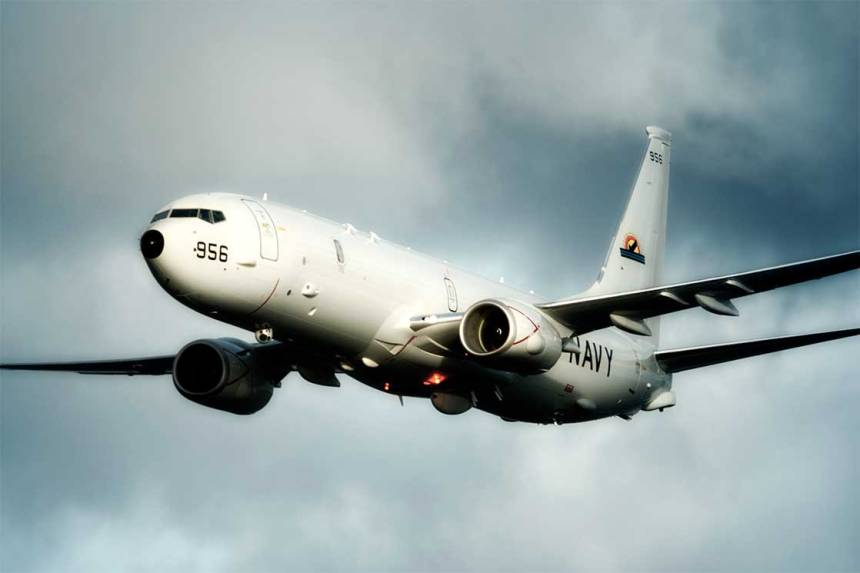 US Navy plane used to illustrate the story. [Photo credit: Navy Recruiting]