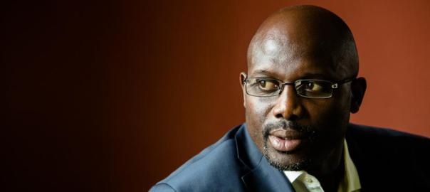 Former football star & Liberian Senator, George Weah [Photo credit: Forbes]
