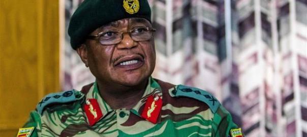 Zimbabwean army chief Constantino Chinwenga. [Photo credit: PressTV]