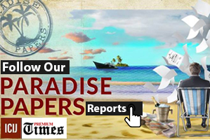 Paradise Papers Advert