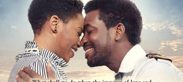 Chidinma and Demola in the film