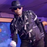 Elumelu rocks Michael Jackson's outfit to Xmas party