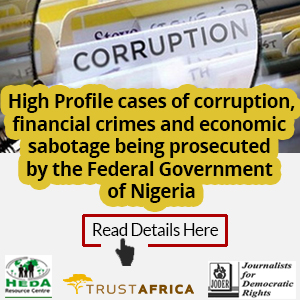 Corruption cases Advert