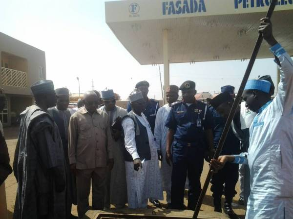 Task Force raids erring filling stations in Zaria