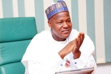 Speaker, House of Representative, Yakubu Dogara.