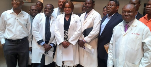 Members of the Guild of Medical Directors, at an FCT high court on Thursday