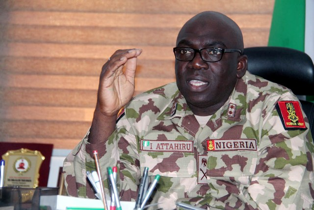 B'Haram war: Army removes commander